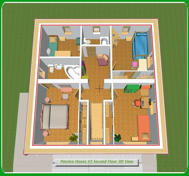 3d 3 Bedroom House Simple Plan On 3 Bedroom House Plan South Africa
