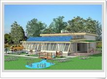 Lovely This Eco Friendly Passive Solar House Is Nestled Among Mature Trees And Has  A Lean,