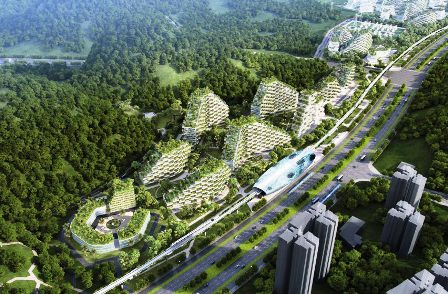 Stefano Boeri Vertical forest city in China