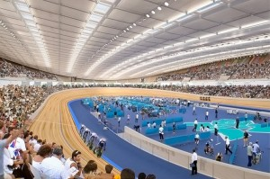 Velodrome Olympic Stadium in London