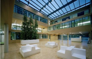 Photo: © Benthem Crouwel Architects Passive House Office in Etrium, Cologne