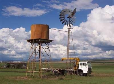 Remote Wind or Solar Installation